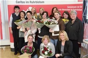 Die Absolventinnen der HOT-Weiterbildung im Bistum Essen
