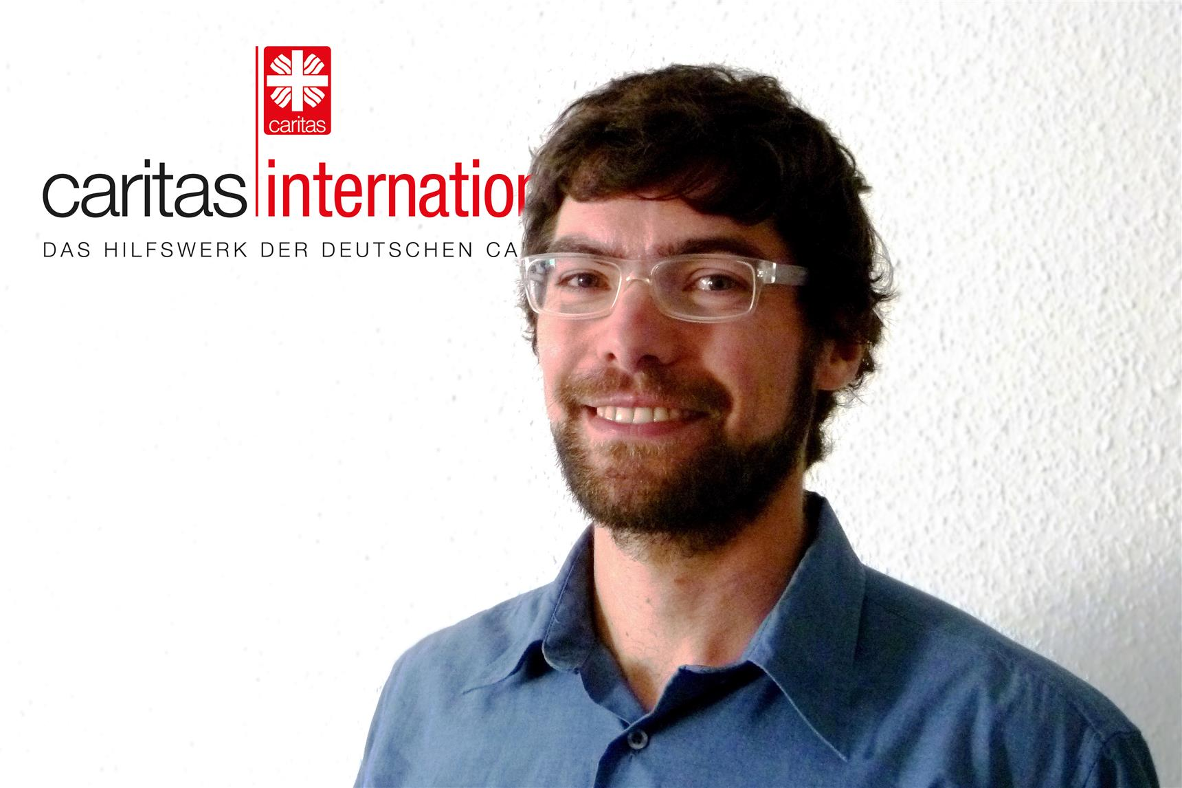 Simon Tremmel, Südsudan-Referent bei Caritas international