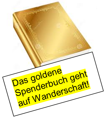 Goldenes Spenderbuch