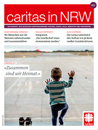 Cover Caritas in NRW 1/2017