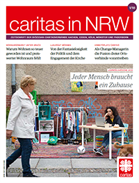 Cover Caritas in NRW 1/2018