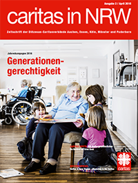 Cover Caritas in NRW 2/2016