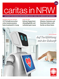 Cover Caritas in NRW 2/2018