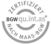 BGW qu.int.as Zertifikat