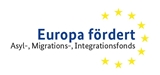 Logo EU fördert - Asyl-, Migrations- und Integrationsfonds
