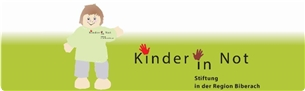 Kinder in Not Logo lang