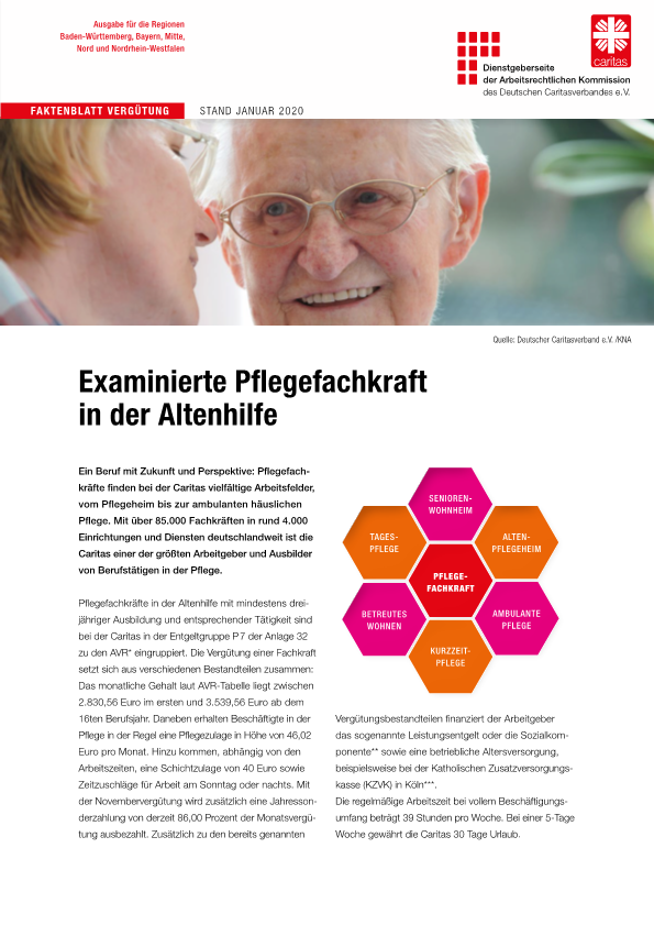 Tarife - Caritasverband Tecklenburger Land e.V.