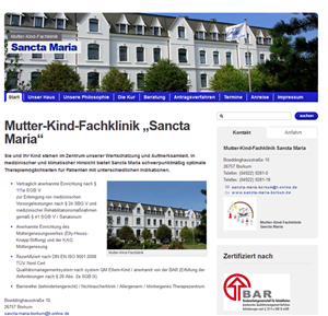 Mutter-Kind-Fachklinik Sancta Maria
