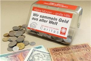 Kleine Münzen Große Hilfe Caritas Im Bistum Aachen Bittet Um