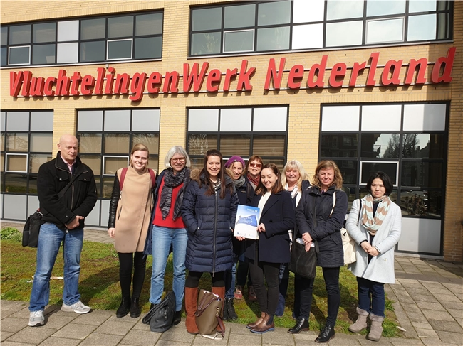 Field trip to the Netherlands Transnational Exchange IV participants
