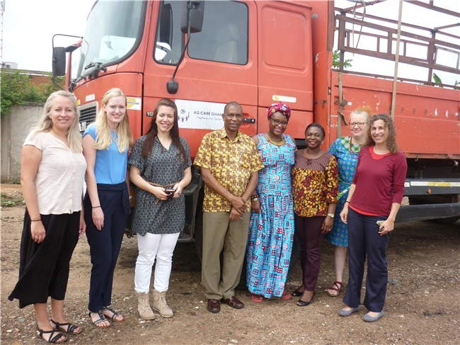 Transnational Exchange-Field Trip Ghana