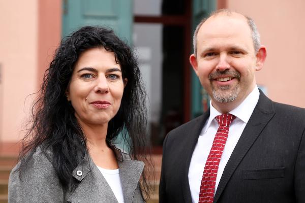 Portraitfoto der beiden Vorstandsmitglieder
