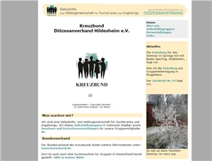 Kreuzbund Website
