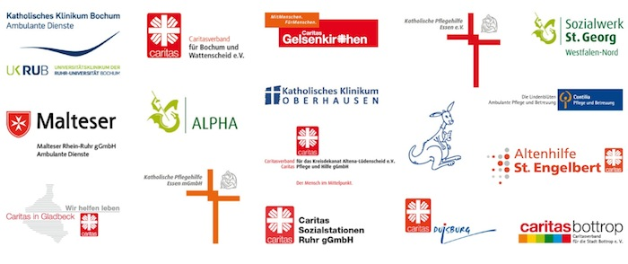 Pflegedienste Logos
