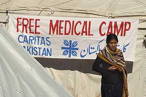 Medical Aid after the earthquake in Pakistan