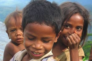 Children in Indonesia