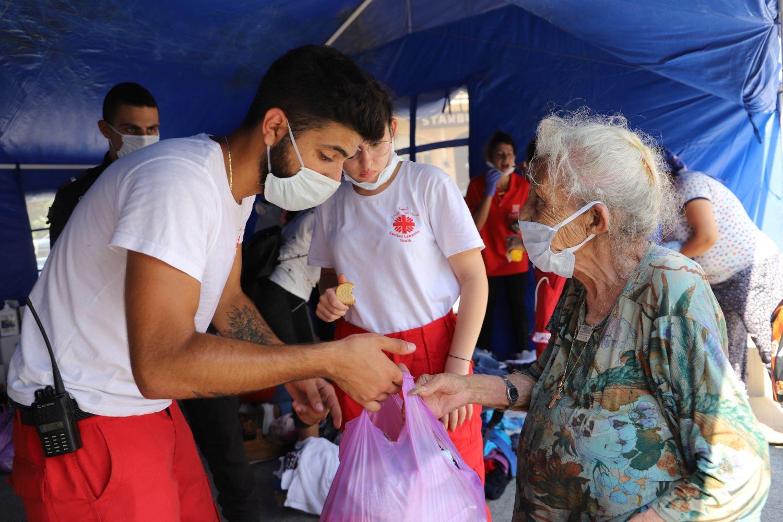 Caritas-Libanon-Versorgung