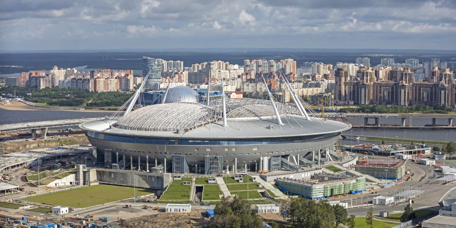 Stadion in St. Petersburg