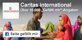 Caritas international auf Facebook