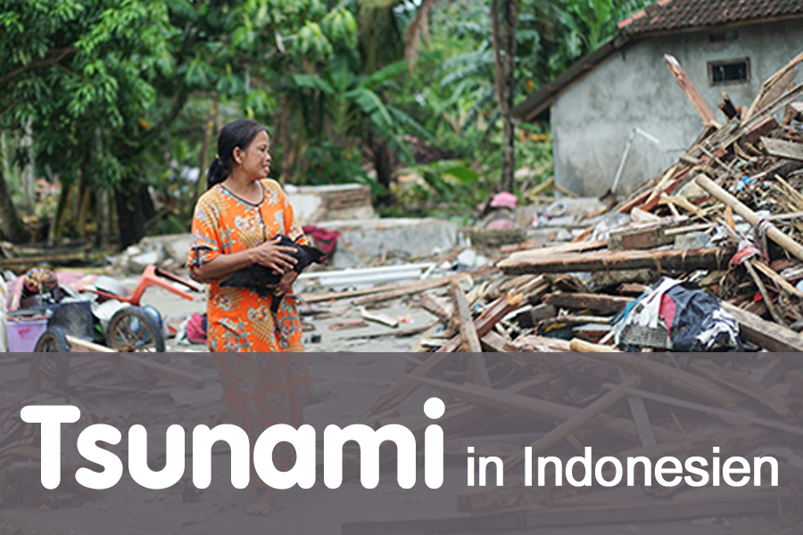 Indonesien-Tsunami-Nothilfe