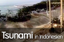 Indonesien: Nothilfe nach Tsunami