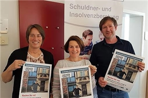 Beraterteam Aktionswoche Schuldnerberatung