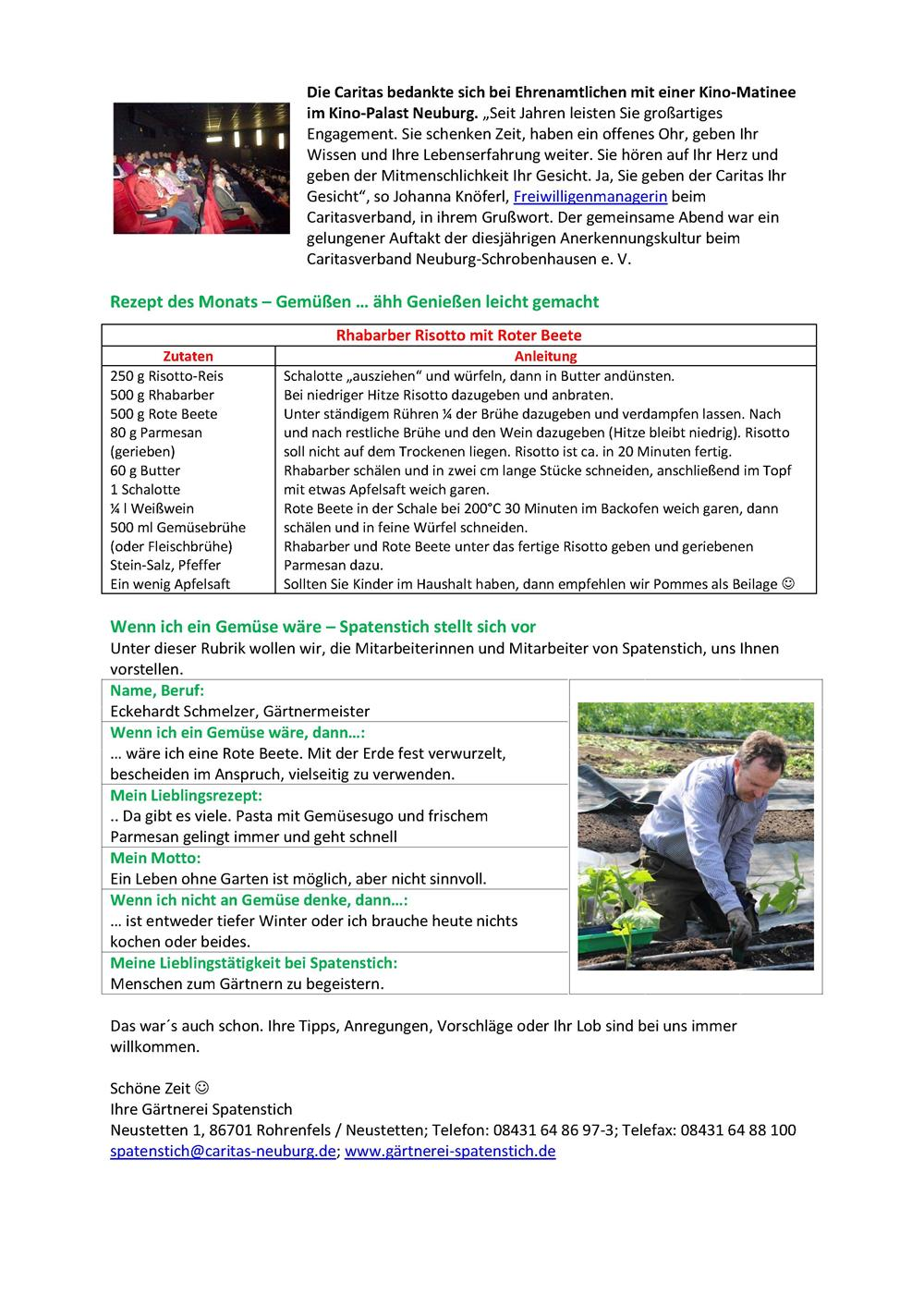 Newsletter08-18 Gärtnerei SpatenstichII