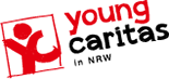 Logo der youngcaritas in NRW