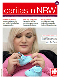 Cover Caritas in NRW 4/2018