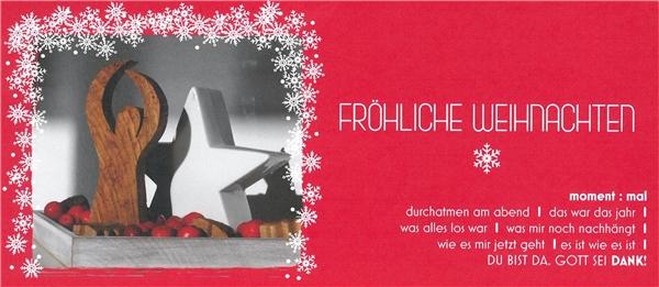 Frohe Weihnachten wünscht Ihnen das Theresien-Haus - caritas-os.de
