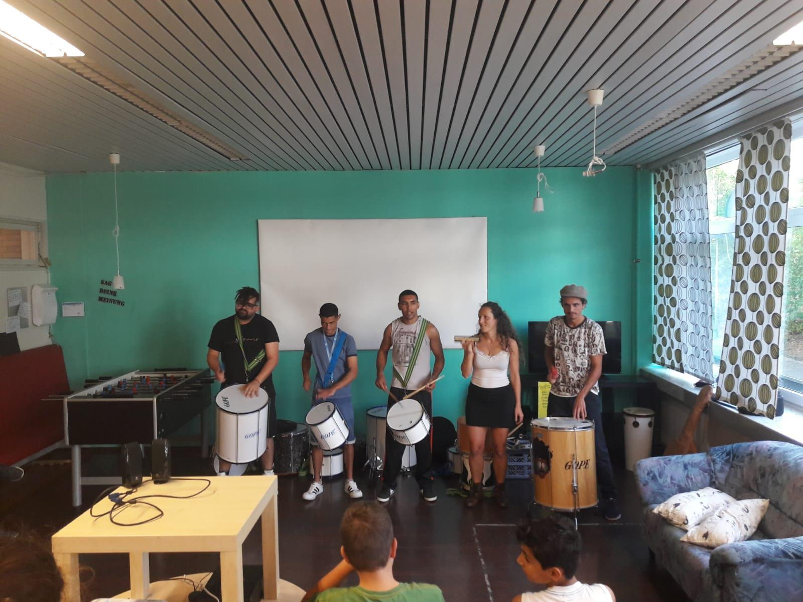 Samba-Workshop im Jugendtreff