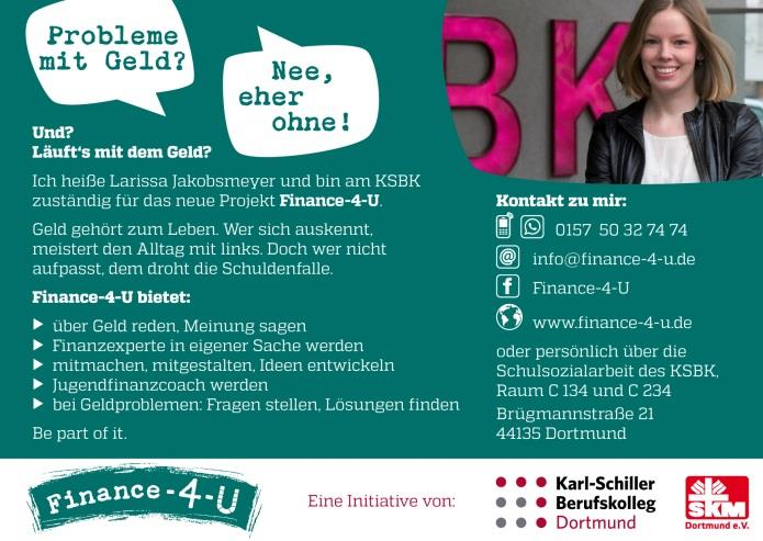 Ansicht Flyer: Finance 4 you