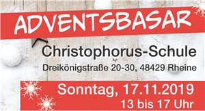 Adventsbasar Christophorus-Schule