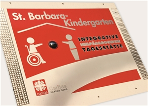 Integrative Heilpäda. Kindertages._Kiga_Schild