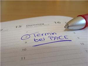 Termin bei PACE 2