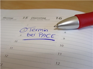 Termin bei PACE