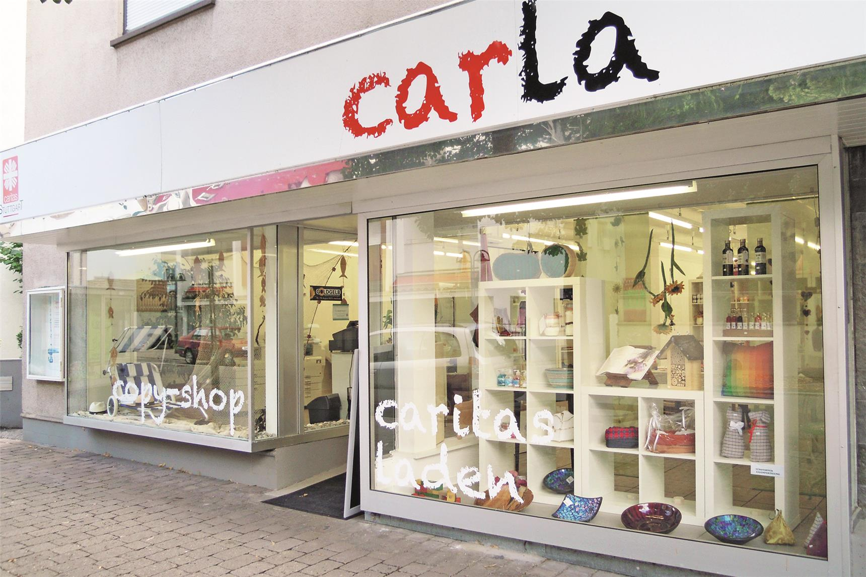 Der Carla Laden in Untertürkheim