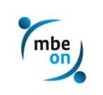 Logo mbeon