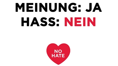 NoHate-Speech: Meinung: Ja, Hass: Nein