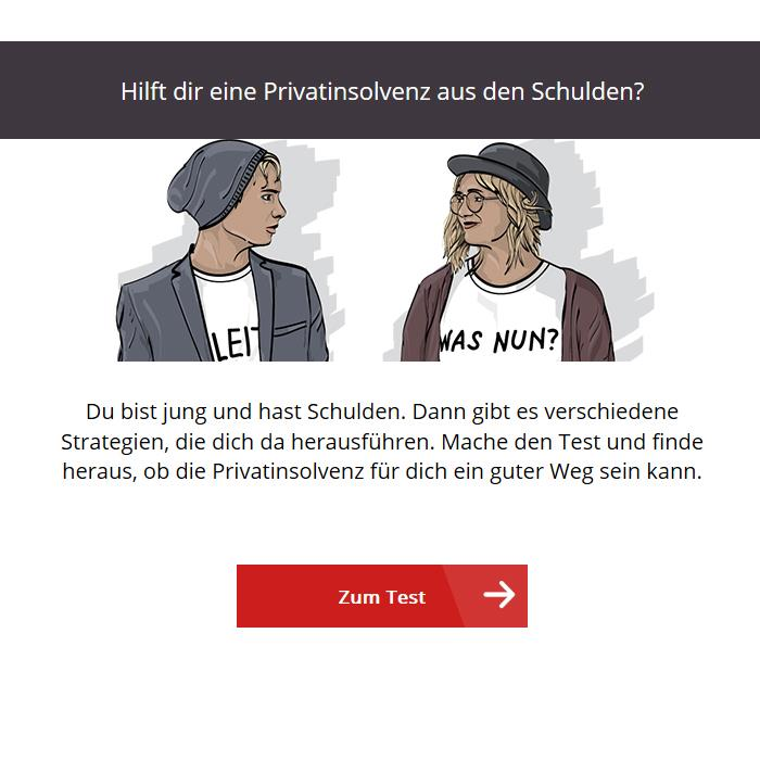 Selbsttest: Privatinsolvenz