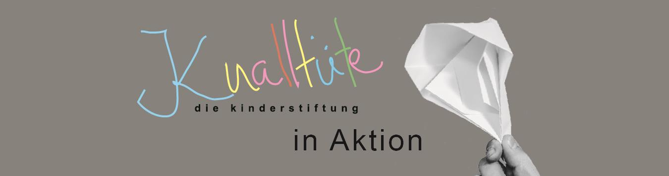 Knalltüte in Aktion