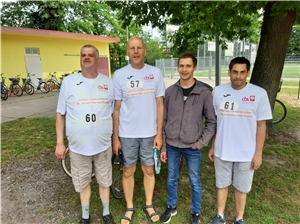 Team Altdorf am Start