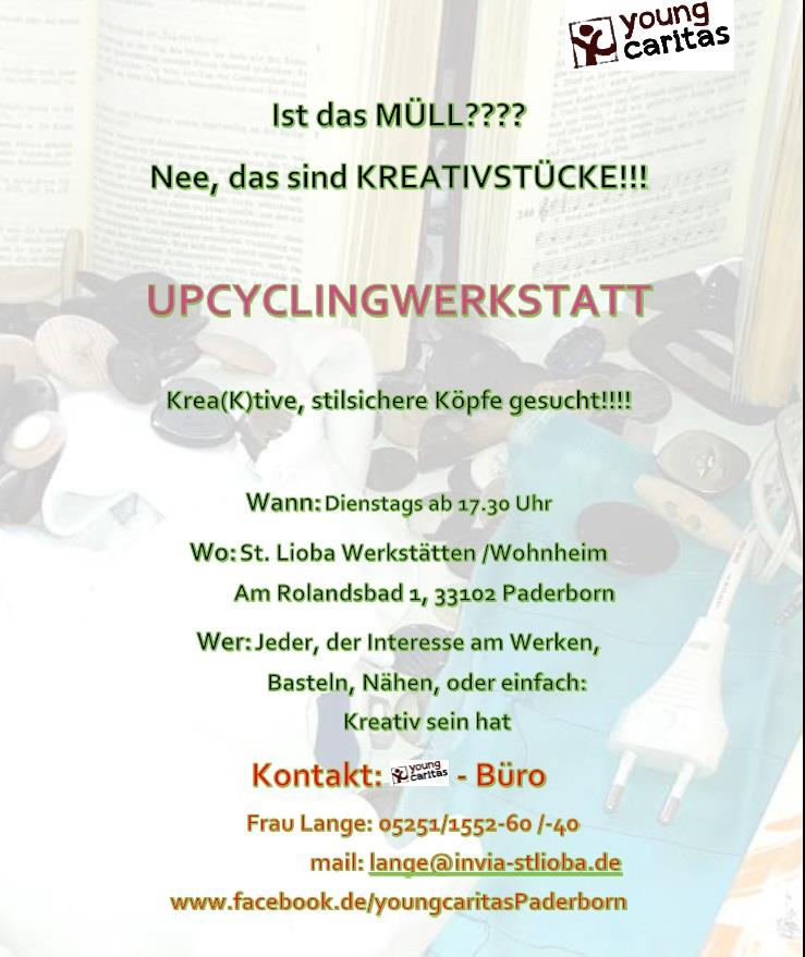 Upcycling-Flyer