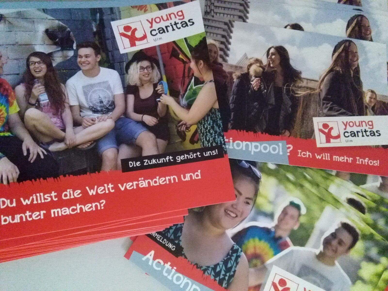 Flyer youngcaritas Ulm