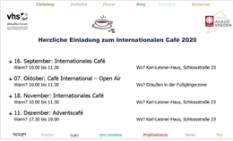 Internationales Café 2020