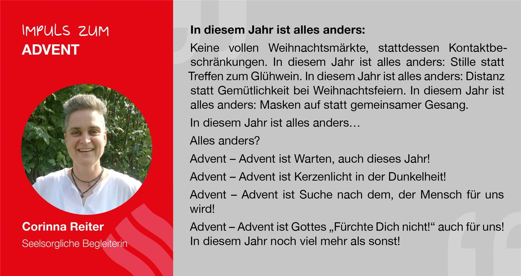 Impuls zum 3. Advent