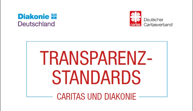 Cover der Transparenzstandards