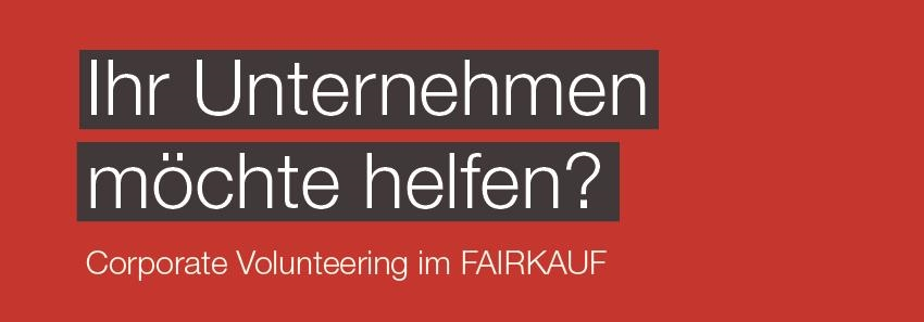 Corporate Volunteering Fairkauf