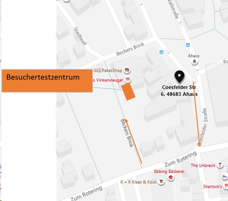 Besuchertestzentrum