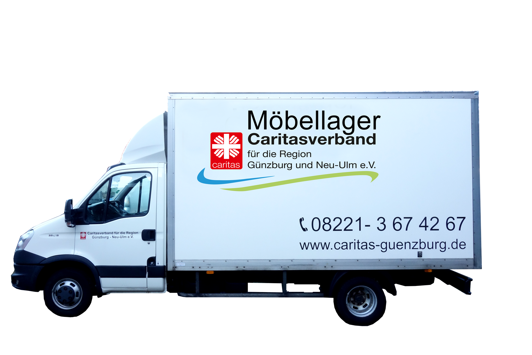 Transporter des Möbellagers (Privat)
